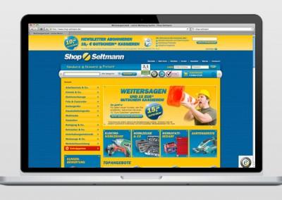 Online-Shop: Shop Seltmann
