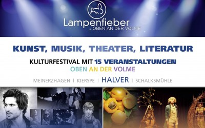 Communication media for the 'Lampenfieber' culture festival