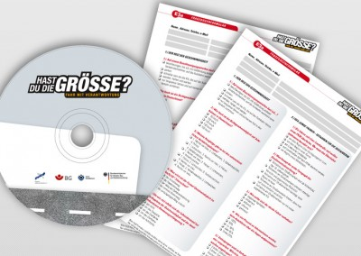 CD und Fragebogen