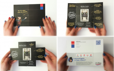 Original direct mail for product innovation
