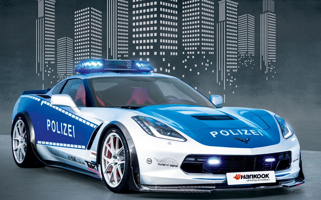 TUNE-IT-SAFE-Kampagnenfahrzeug CORVETTE