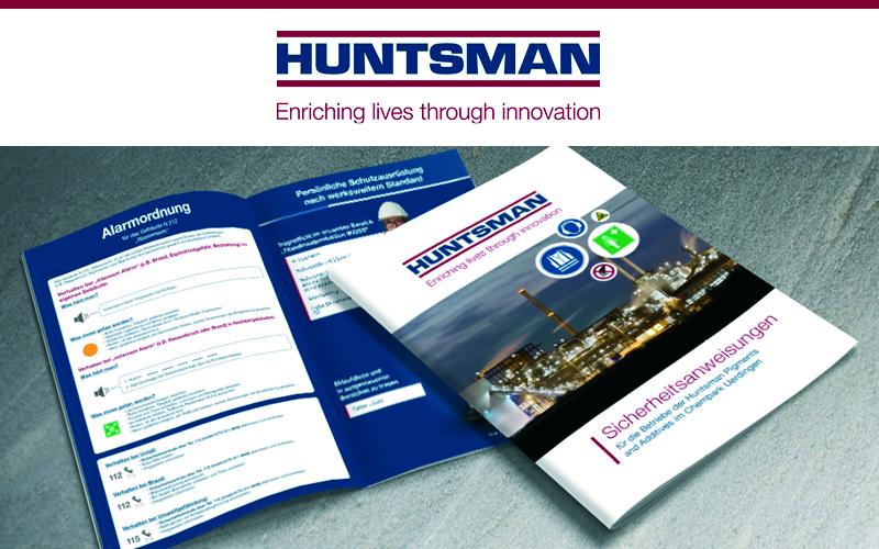 Katalog Huntsmann Sicherheitsanweisungen