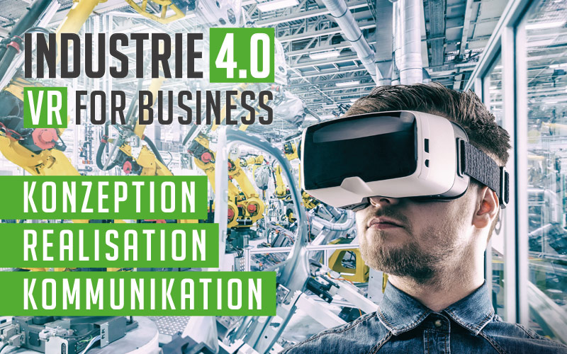 Plakat VR for business