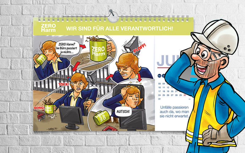 VENATOR Karikaturen-Kalender 2017