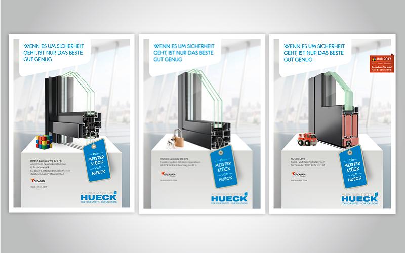 HUECK-Anzeigenserie