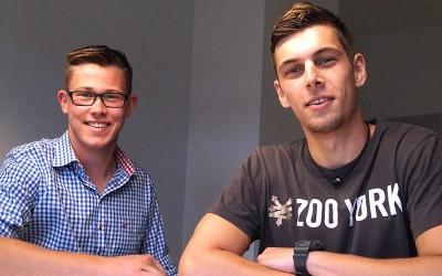 Zwei neue Auszubildende: Verstärkung für unsere Agentur