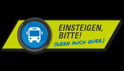 Logo Einsteigen, bitte!